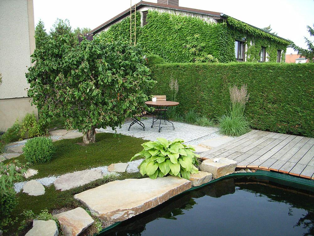 Japanischer Garten Mit Koiteich Garten U