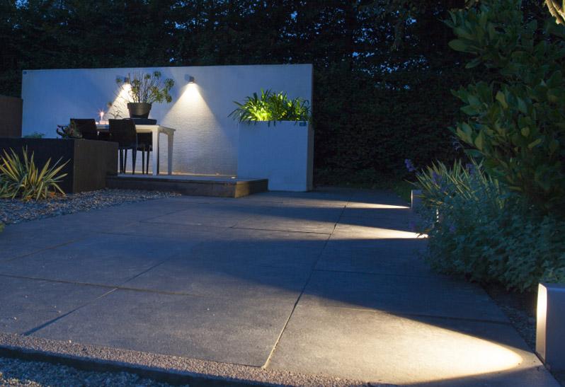 Beleuchtung mit LED-Spots